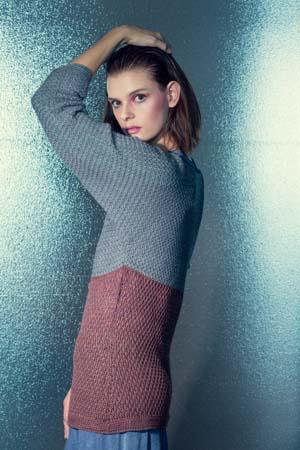 Side of Crochet Seaside Sweater