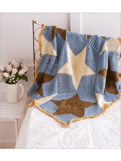 Seaside crochet Throw by Rhonda Davis | CrochetMe.com