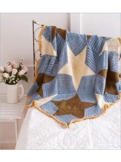 Seaside crochet Throw by Rhonda Davis | CrochetMe.com
