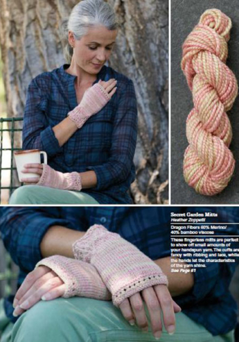 Secret Garden Mitts by Heather Zoppetti