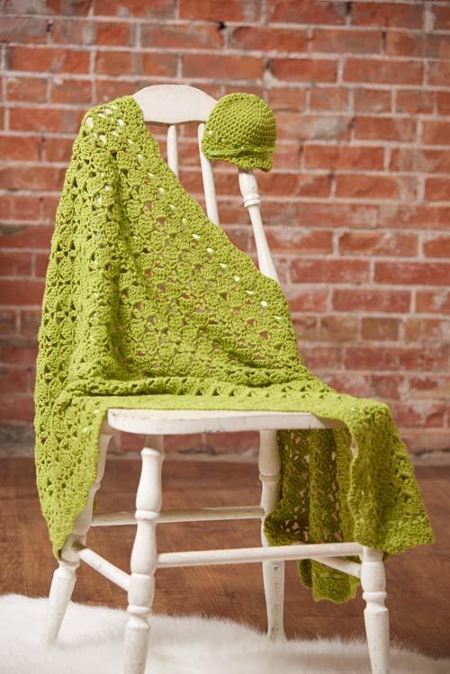 Seedling Blanket Crochet Pattern
