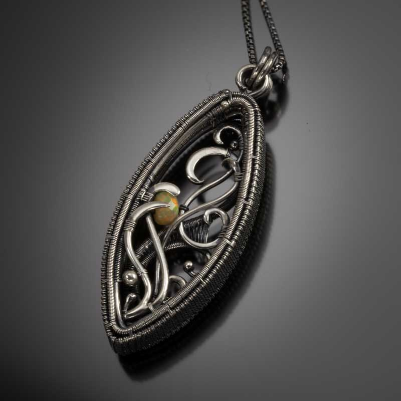 Shadow Box pendant by Sarah Thompson