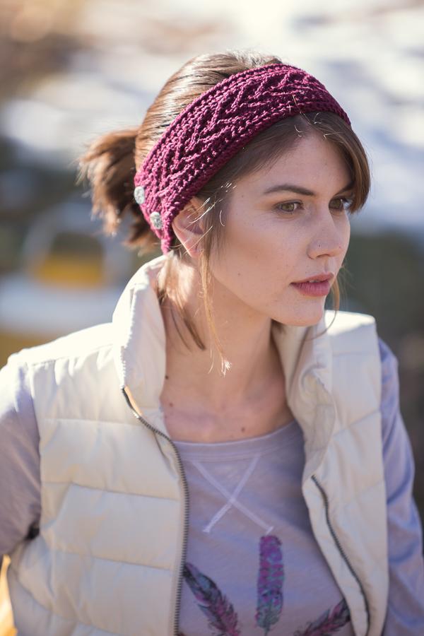 Shaina Bilow's Berkshires Band accessory knitting pattern