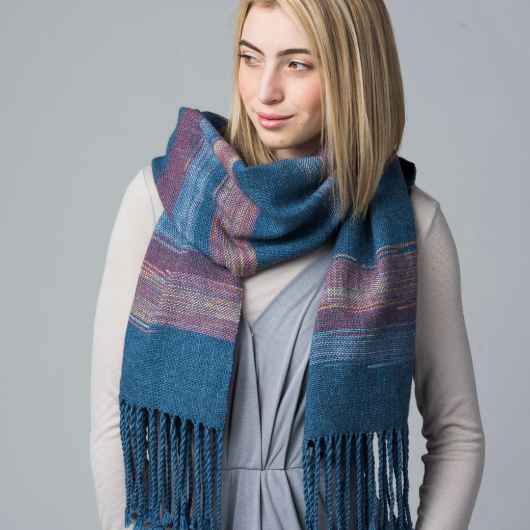 sunset shawl