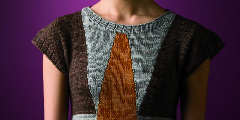 From Slant to Curve: Shaped Intarsia