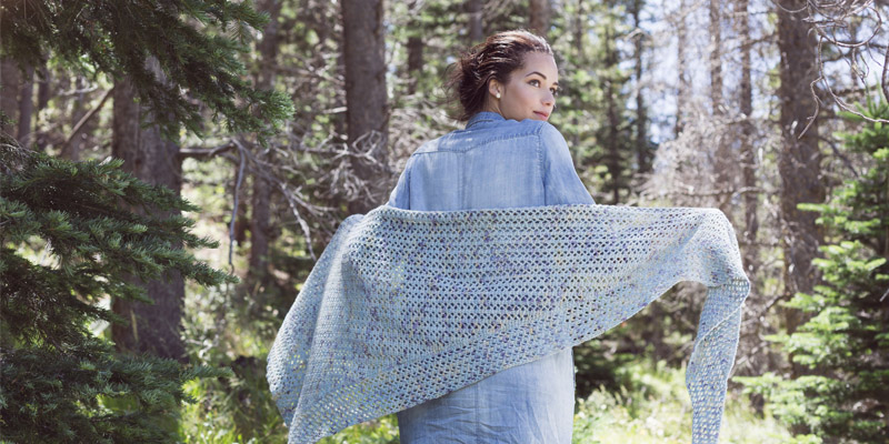 WWDD: 5 Ways to Wear a Crochet Shawl
