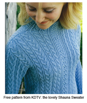 The Very First Free Patterns of 2009 - Interweave
