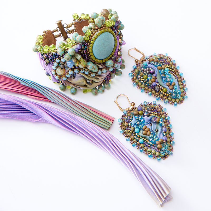 Beadwork and bead embroidery by Sherry Serafini