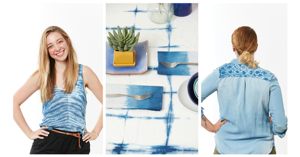 Shibori and Indigo Dyeing: The Possibilities are Endless!