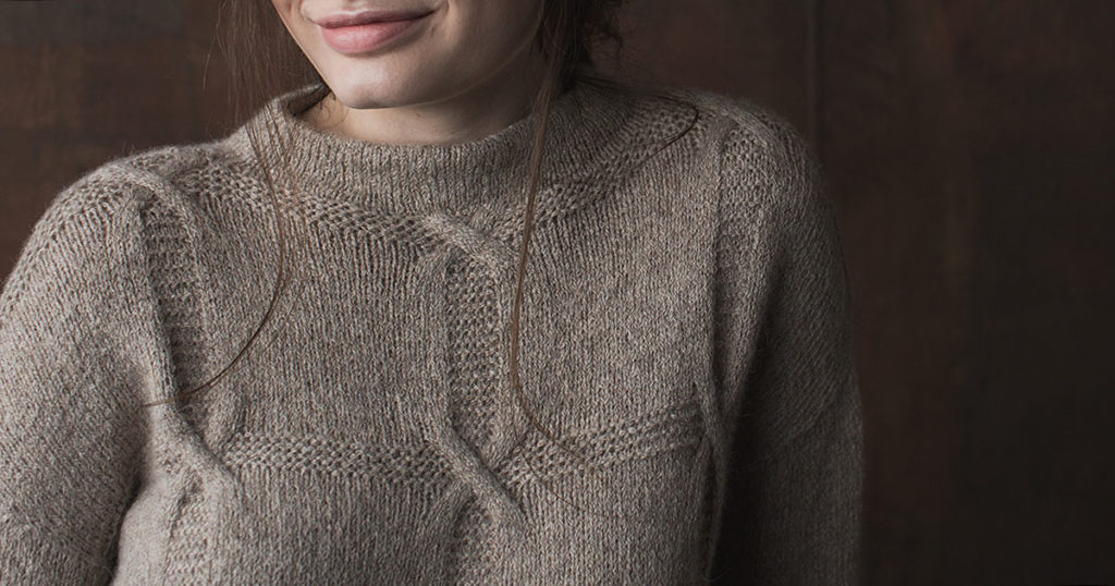 Shifting Squares Pullover