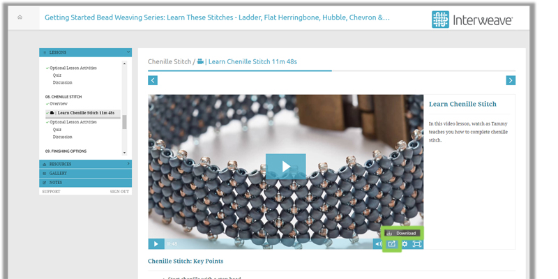 Jewelry Making and Everything You Need to Know about Interweave's Online Courses
