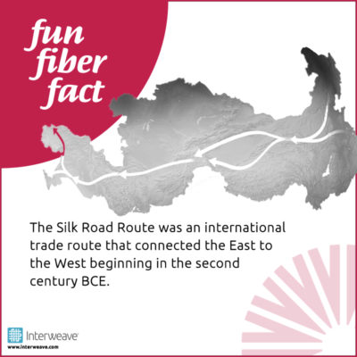 The Silk Road Route was an international trade route that connected the East to the West beginning in the second century BCE.