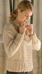 Easy Free Knitting Patterns: Women's Knitted Sweater Pattern