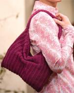 Free slouchy purse crochet pattern by Drew Emborsky | CrochetMe.com