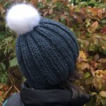 Finished Object: Slouchy Ribbed Hat