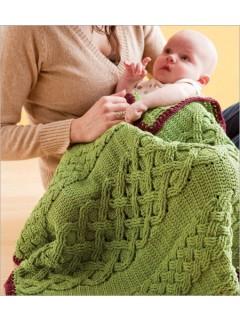 Solas Caomh crochet blanket by Jodi Euchner | CrochetMe.com