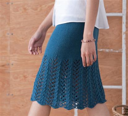 Solstice Skirt Interweave
