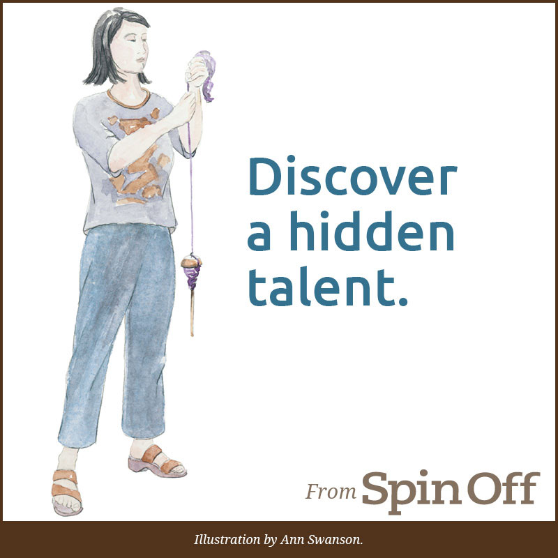 Discover a hidden talent. Illustration by Ann Swanson.