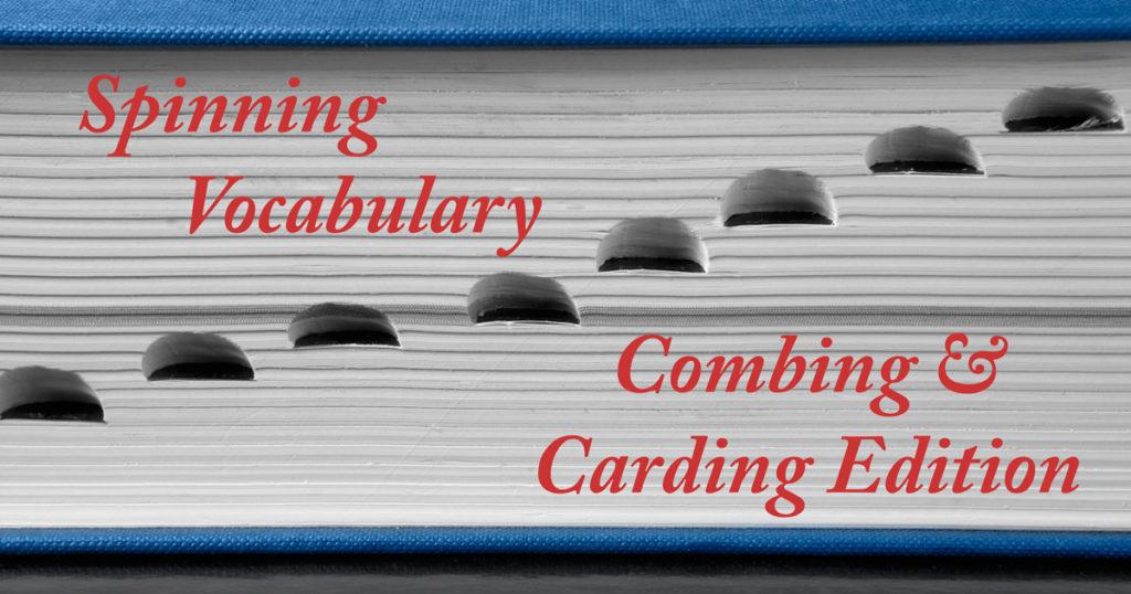 Spinning-Vocabulary