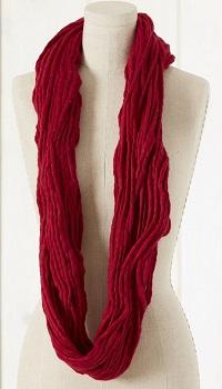 Spuntaneous worn as an infinity scarf