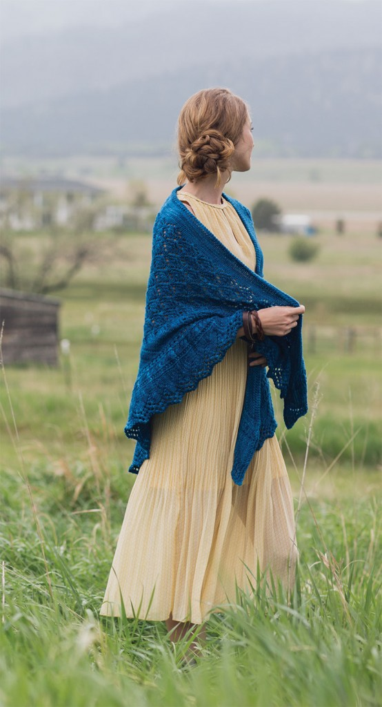 squall line shawl interweave knits fall 2015