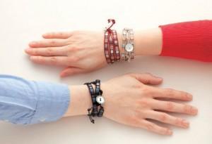 Chic Squares Wrap Bracelet