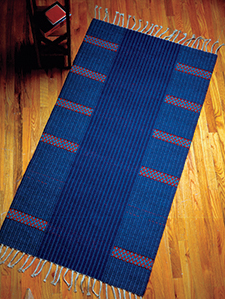 6-End Block-Weave Rug by Barbara Kent Stafford
