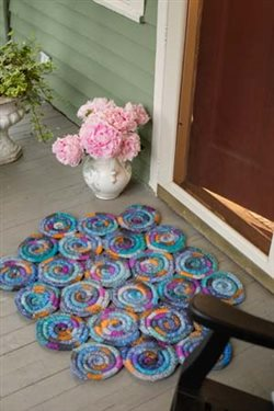 Knitting Daily Tv Patterns : Stained Glass Rug, As Featured on Knitting Daily TV with ...