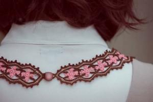 Starflower Necklace Back