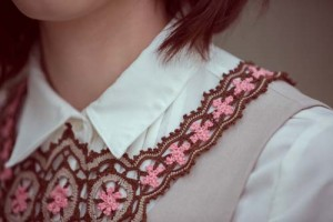 Starflower Necklace close