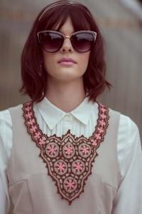 Starflower Necklace tight