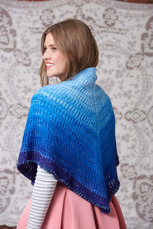 Starry Night Shawl Crochet Pattern