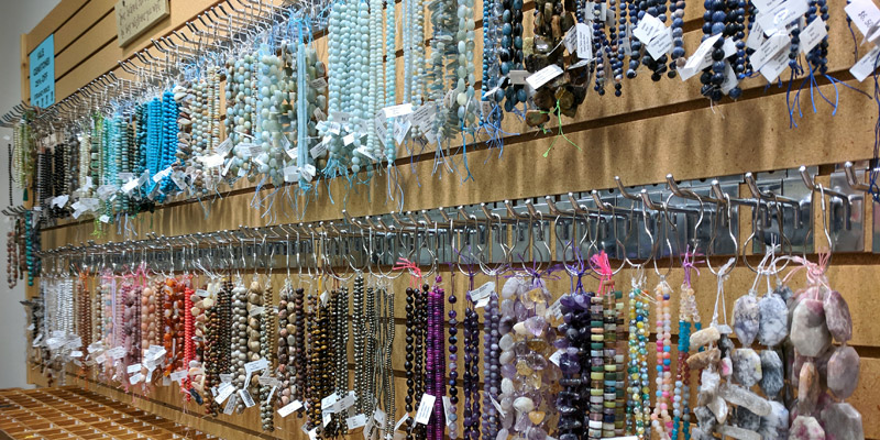 Meredith Steele's bead shop