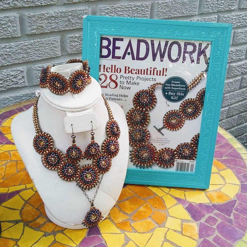 Beadwork cover