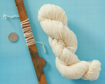 Yarn from Stewie, carefully spun.