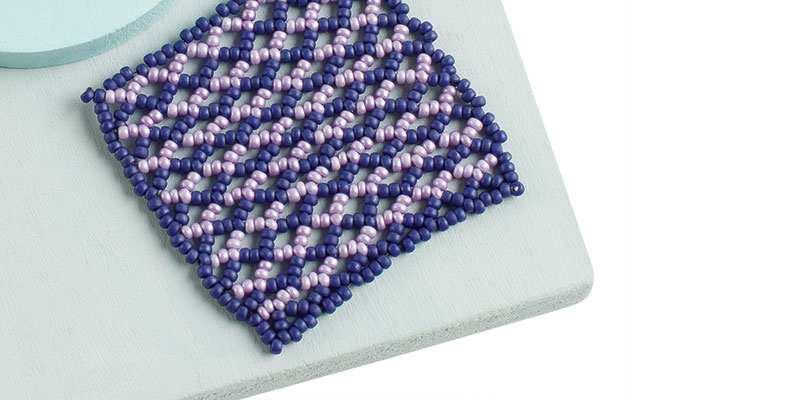 Lessons in Bead Weaving: Stitch Pro Tips on Beaded Netting