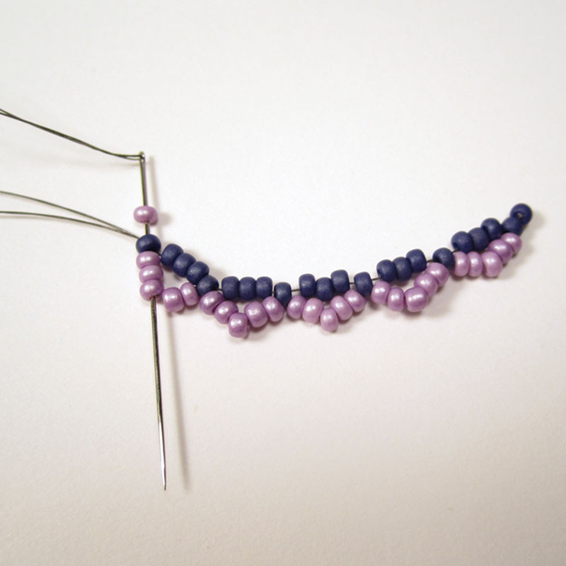 Lessons in Bead Weaving: Stitch Tips on Beaded Netting