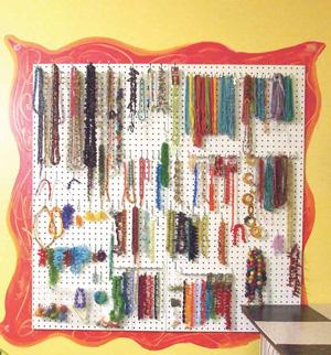 Jennifer Haynen's artist studio. #StudioSunday