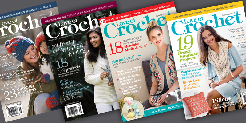 8 Great Reasons to Subscribe to <em>Love of Crochet</em> Magazine