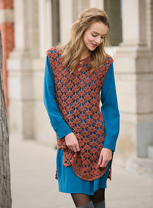 Being Playful with the Sugar Maple Crochet Tunic