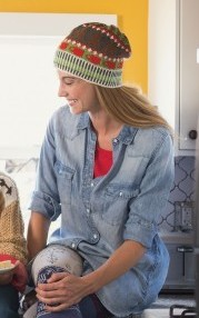 Sugar and Spice Hat is a great knitted gifts