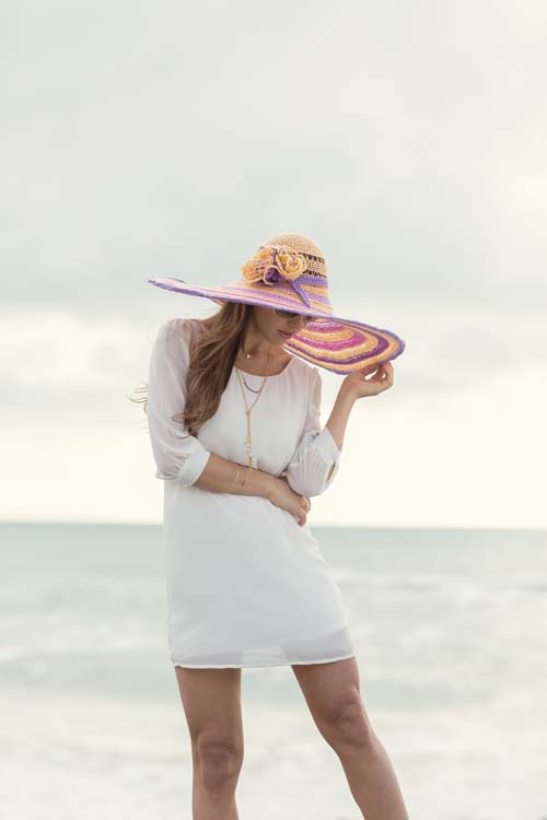 Sun-Kissed Hat from Interweave Crochet Summer 2016