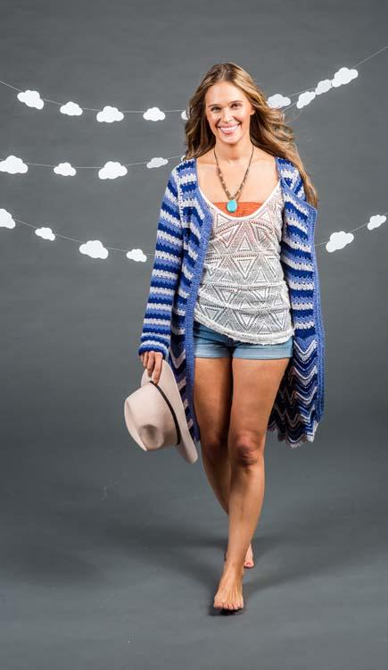 Surfside Cardi Crochet Cardigan