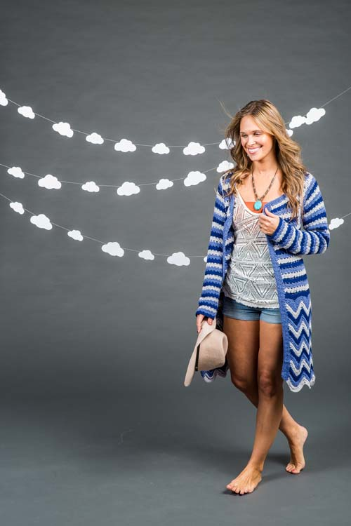 Surfside Cardi Long Sleeve