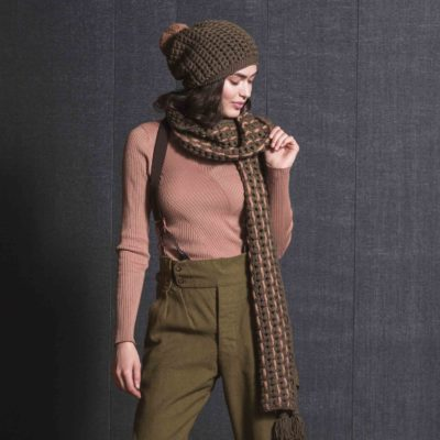 swank scarf and cap set