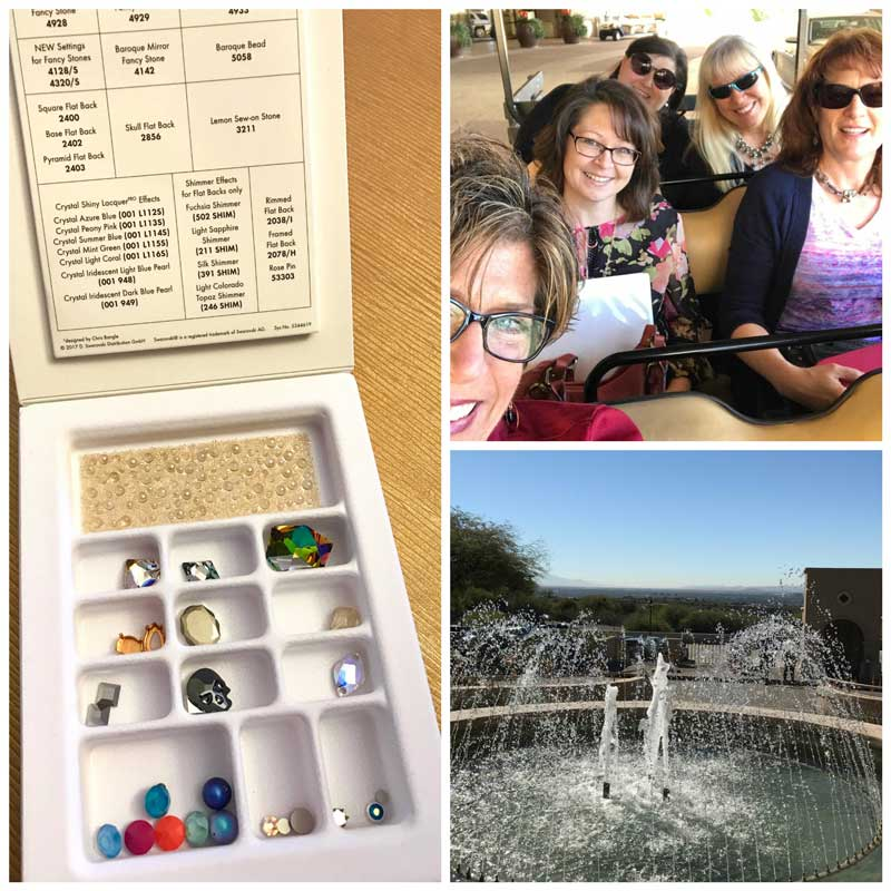 Jewelry-Making and Beading Supplies, Fun Finds, and Adventures From the Road. Swarovski Spring/Summer 2018 launch with new colors, new finishes, and new shapes.