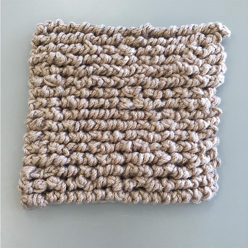reverse single crochet