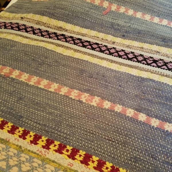 Rag weaving