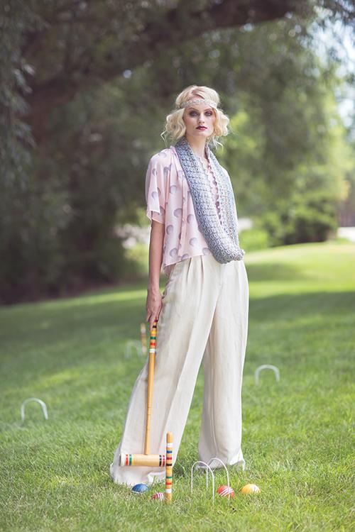 Swell Crochet Infinity Cowl