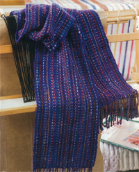 Syne Mitchell's Stash Busting Scarf